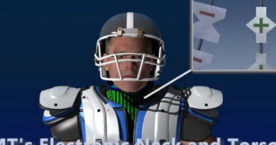 Video Demo:  The Electronic Neck & Shoulder Brace